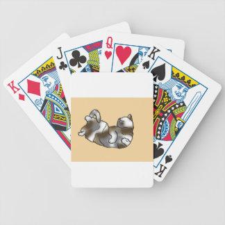 Ocioso del melocotón cartas de juego