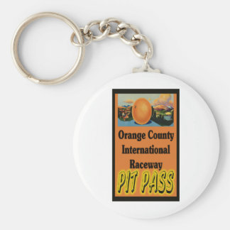 OCIR Pit Pass Basic Round Button Keychain