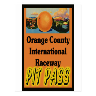 OCIR Pit Pass Postcard