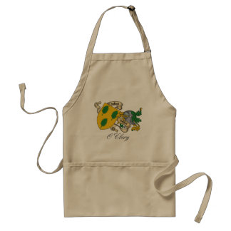 O'Clery Family Crest Apron