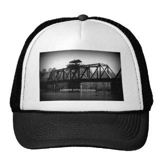 OCMULGEE RIVER BRIDGE - LUMBER CITY, GEORGIA TRUCKER HAT