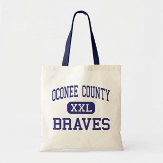 Oconee County Braves Middle Watkinsville Bags