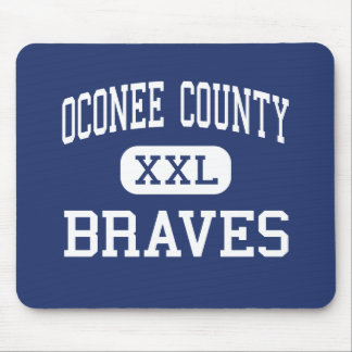 Oconee County Braves Middle Watkinsville Mouse Pad