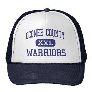 Oconee County - Warriors - High - Watkinsville Trucker Hat