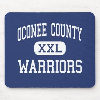 Oconee County - Warriors - High - Watkinsville Mouse Pad