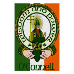 O'Connell Clan Motto Poster Print