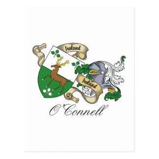 O'Connell Family Crest Postcards