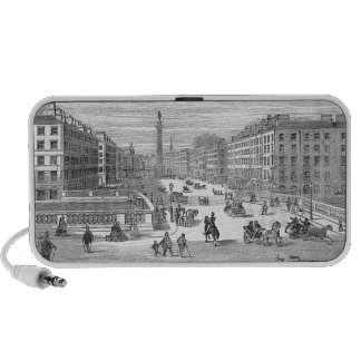O'Connell Street 19th Century Dublin On Doodle Travel Speakers