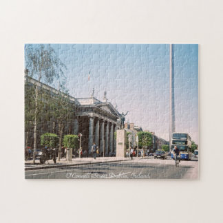 O'Connell Street, central Dublin Ireland jigsaw Jigsaw Puzzle