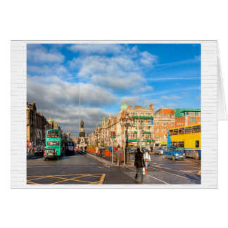 O'Connell Street Stroll - Dublin, Ireland Card