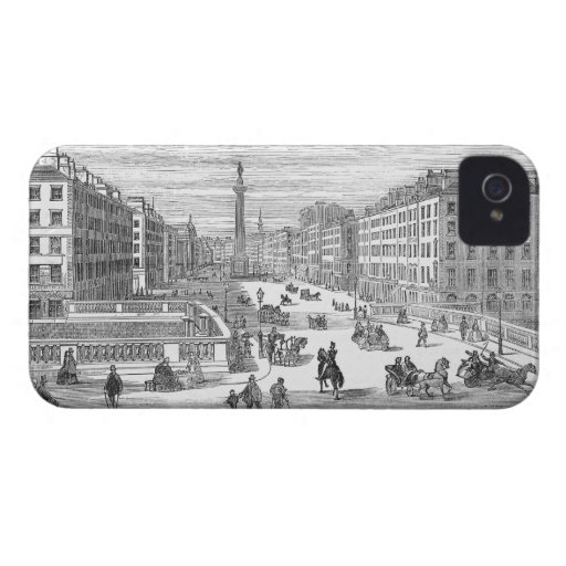 O'Connell Street Vintage Dublin Ireland iPhone 4 iPhone 4 Covers