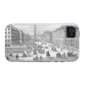 O'Connell Street Vintage Dublin Ireland iPhone 4 Case-Mate iPhone 4 Cases