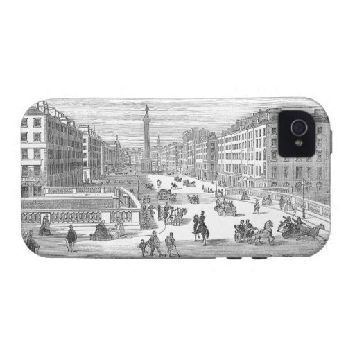 O'Connell Street Vintage Dublin Ireland iPhone 4 iPhone 4/4S Cases