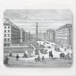 O'Connell Street Vintage Dublin Ireland Mousepad mousepad