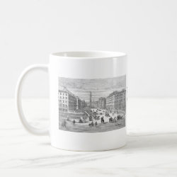 O'Connell Street Vintage Dublin Ireland Mug mug