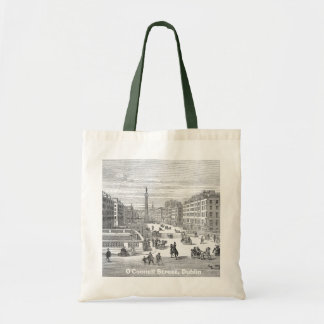 O'Connell Street Vintage Dublin Ireland Tote Bag