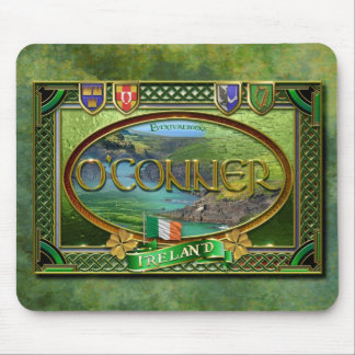 O'Conner Family Banner Mouse Pad