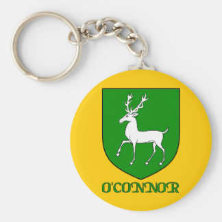 O'Connor Family Shield Keychain