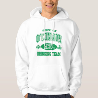 O'Connor Irish Drinking Team Hooded Sweatshirts