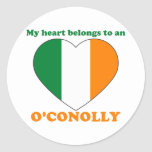 O'Conolly Etiquetas Redondas