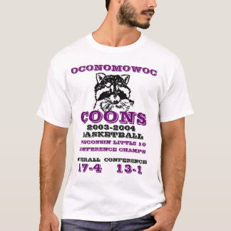 Oconomowoc Coons Conference Champs T-Shirt