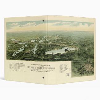 Oconomowoc & Waukesha Wisconsin (1890) 3 Ring Binder