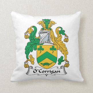 O'Corrigan Family Crest Pillow