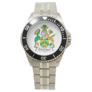 O'Corrigan Family Crest Wristwatch