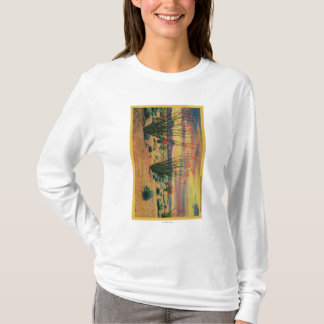 Ocotillo Flowers in Bloom, California DesertStat T-Shirt
