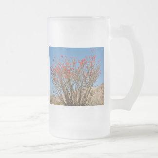 Ocotillo Frosted Glass Beer Mug