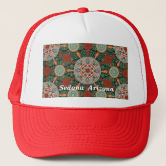 Ocotillo Mandala Array Hat