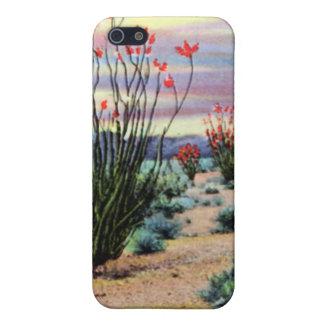 Ocotillos del desierto de Arizona en la floración iPhone 5 Cárcasa