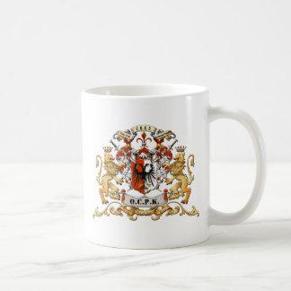 OCPKCrest Classic White Coffee Mug