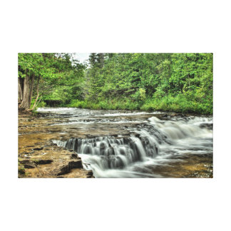 Ocqueoc Falls, Michigan Canvas Print