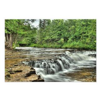Ocqueoc Falls, Michigan Photograph