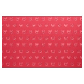 OCR Branded Red Fabric