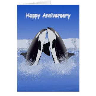 Ocra Anniversary Card