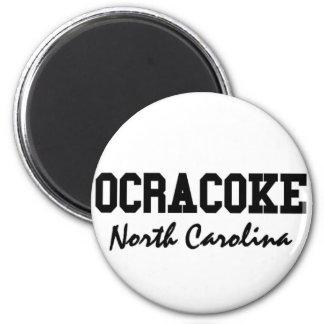 Ocracoke Carolina del Norte Imán Redondo 5 Cm