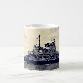 Ocracoke Ferry Digital Painting Coffee Mug