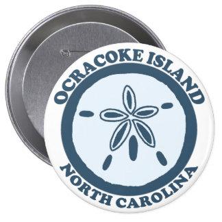 Ocracoke Island. Button