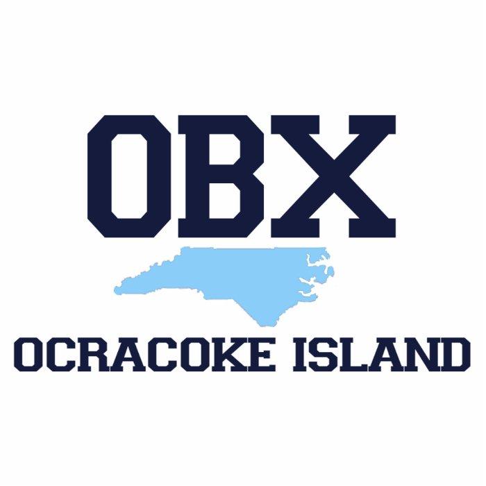 Ocracoke Island. Cutout