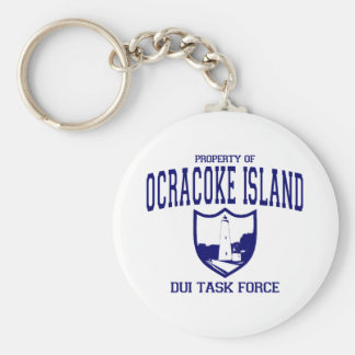 Ocracoke Island DUI Task Force Keychain