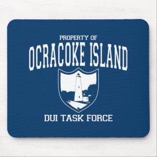 Ocracoke Island DUI Task Force Mouse Pad
