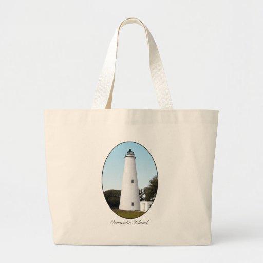 Ocracoke Island Jumbo Tote Bag