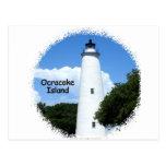 Ocracoke Island Light Postcard