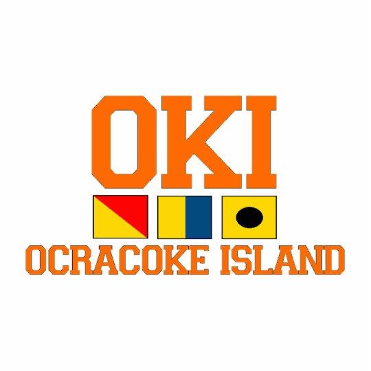 Ocracoke Island. Statuette