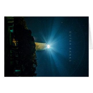 Ocracoke Light. Card