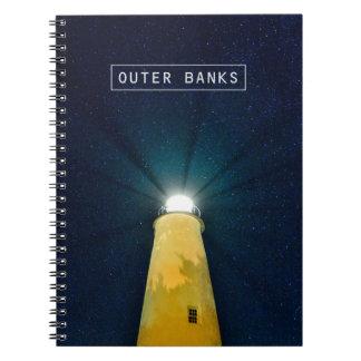 Ocracoke Light. Notebook