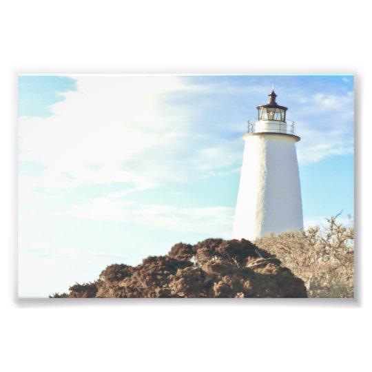 Ocracoke Light. Photo Print