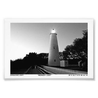 Ocracoke Light. Art Photo